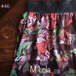 BNWT LuLaRoe Lola Midi Skirt